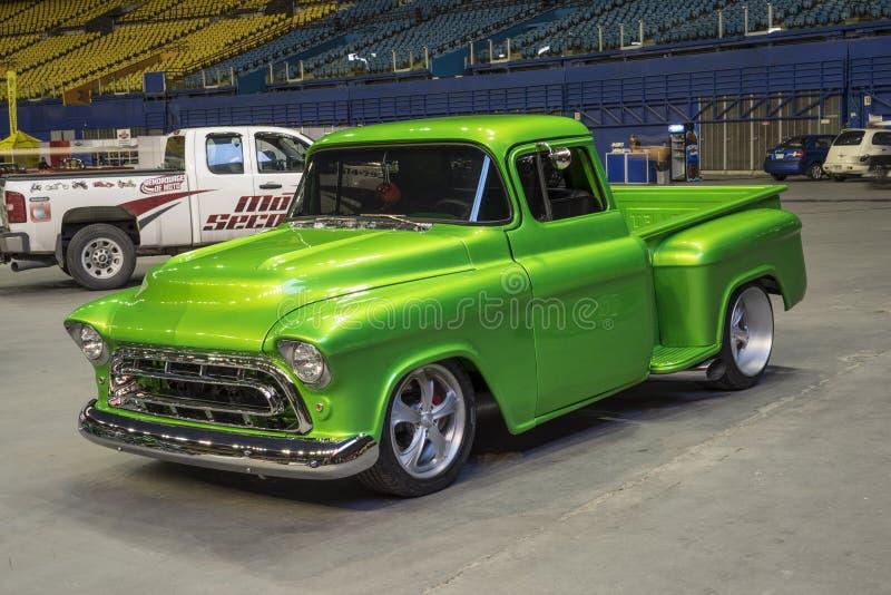 Classic truck stock photo