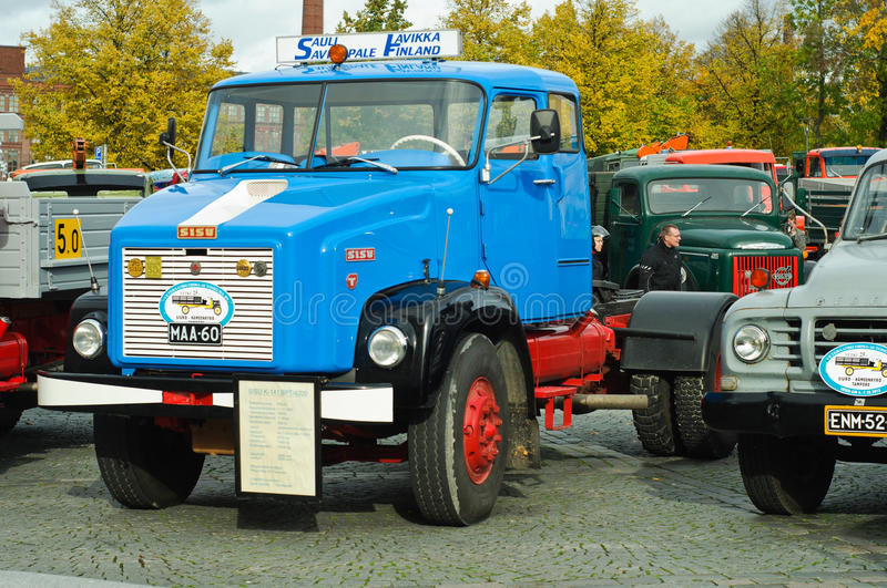 Download Classic trucks editorial stock photo. Image of wheels - 27045353