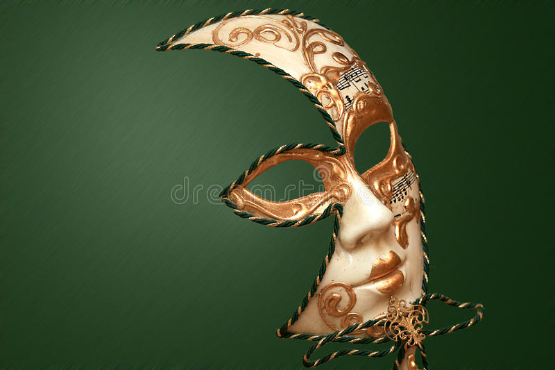 CLASSIC VENETIAN MASK royalty free stock photo