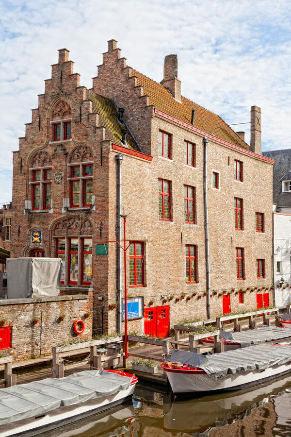 Download Classic View Of Channels Of Bruges. Belgium Stock Images - Image: 26618214
