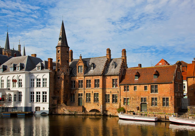Download Classic View Of Channels Of Bruges. Belgium. Stock Image - Image: 27924545