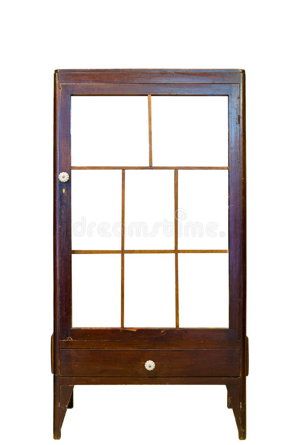 Classic vintage cabinet stock image
