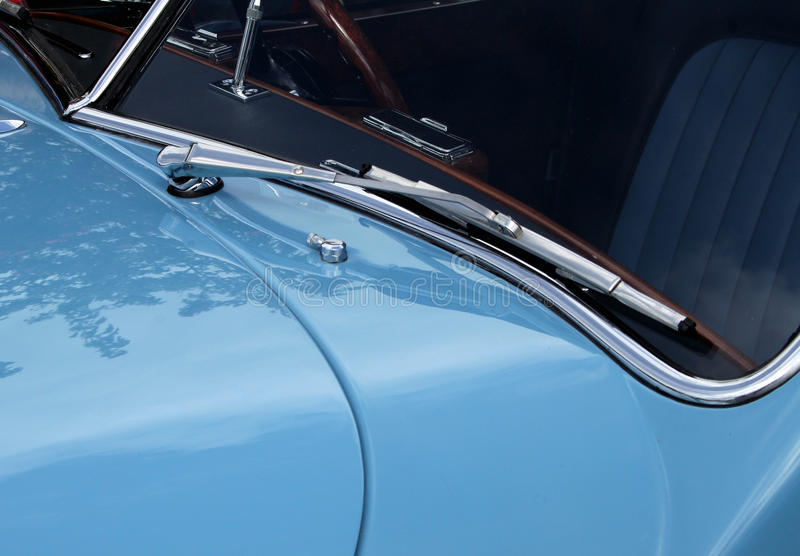 Classic and Vintage Car Detail royalty free stock photo
