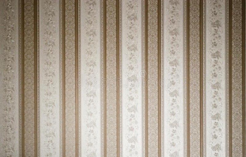 Classic wallpaper texture. Classic lines and flowers wallpaper texture royalty free stock photo
