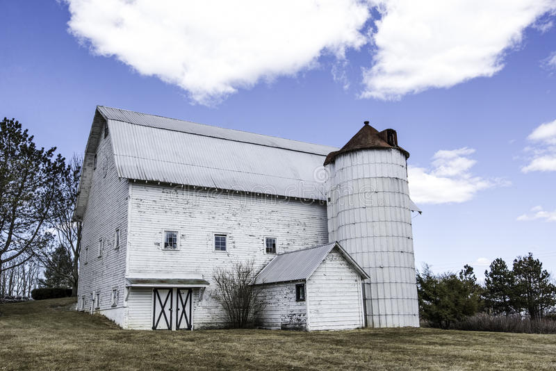 Download Classic White Barn stock image. Image of barn, agricultural - 31363775