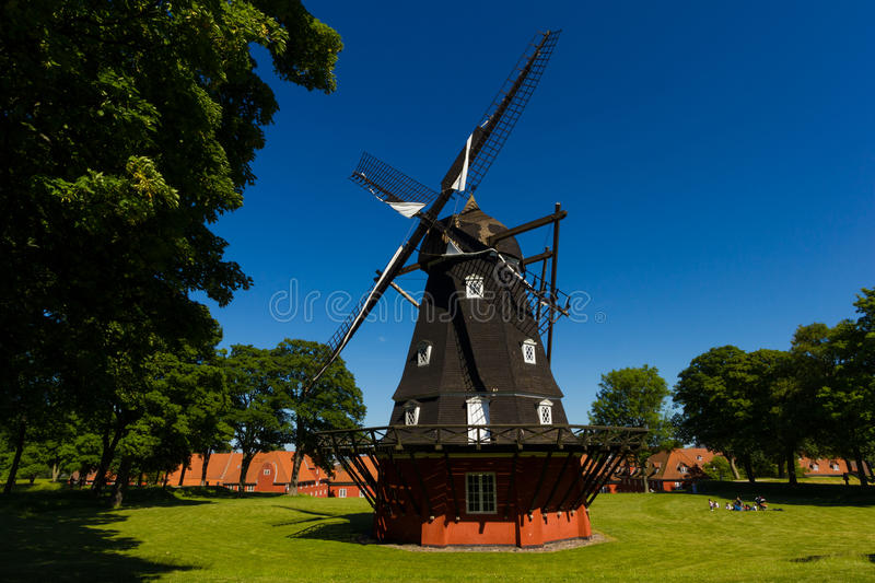 Classic Windmill in Northern Europe royalty free stock images