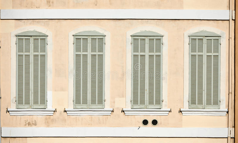 Download Classic Windows In Marseille Stock Image - Image: 37538585