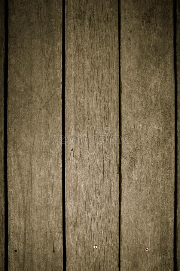Classic wood slat background on the floor.  royalty free stock photography