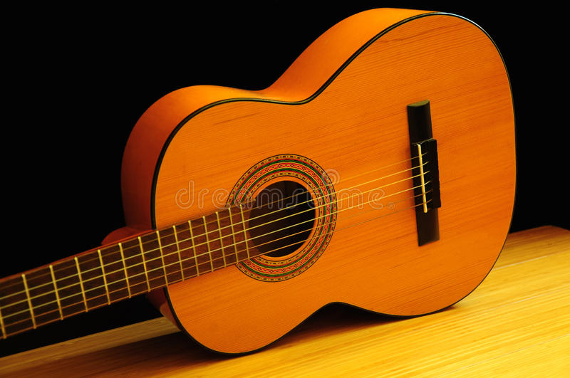 Download Classical acoustic guitar stock image. Image of music - 16755983