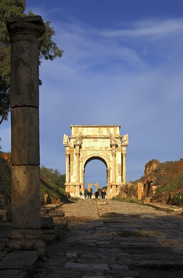 Free Classical Arch Royalty Free Stock Photos - 485218