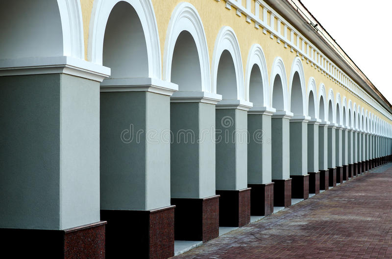 Classical arches stock photo