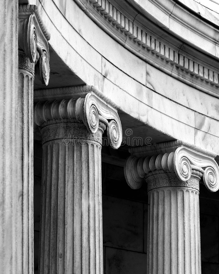 Classical architectural details royalty free stock image
