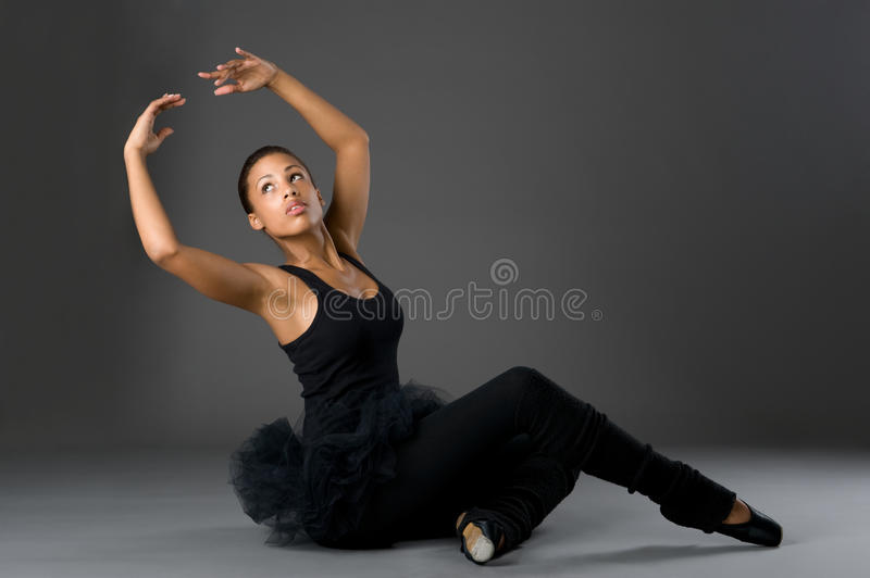 Classical Ballerina royalty free stock image