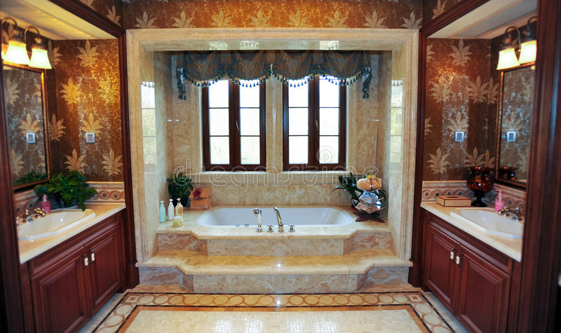 Classical bathroom stock images