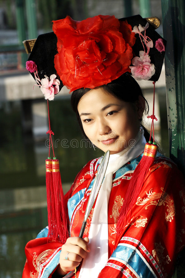 Classical beauty in China. royalty free stock images