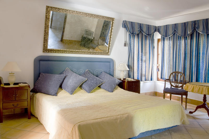 Classical bedroom royalty free stock images
