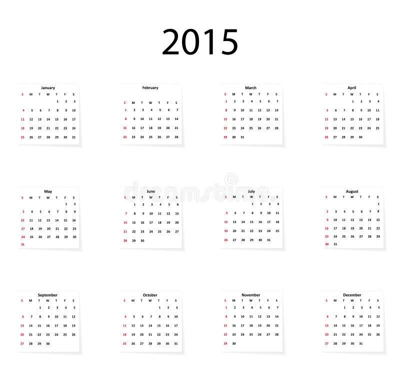 Classical calendar . Classical calendar on a light background stock illustration