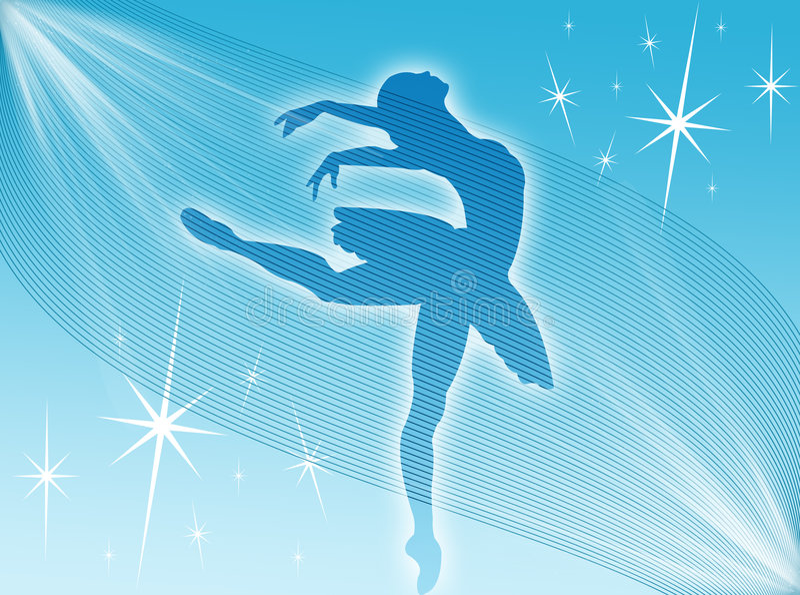 Download Classical Dancer Expression Stock Illustration - Illustration: 7935089