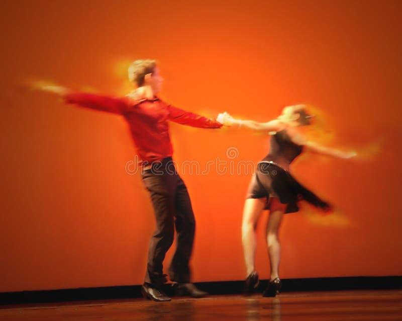 Classical Dancers. Couple dancing