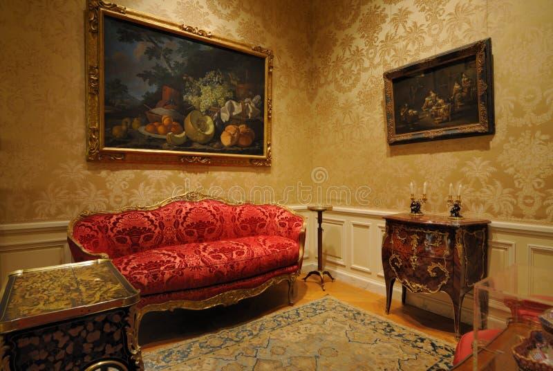 Classical European Furniture stock image