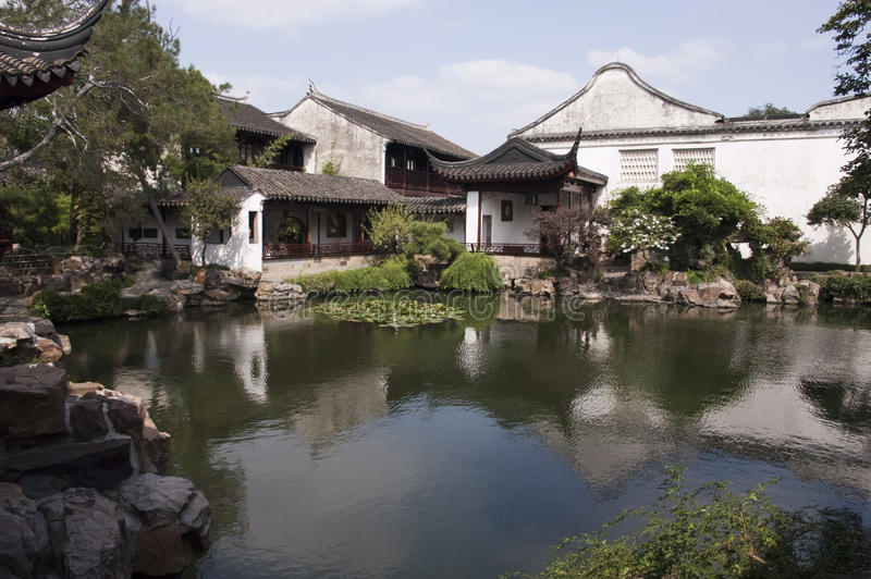 Classical Gardens of Suzhou, Travel to China royalty free stock photography