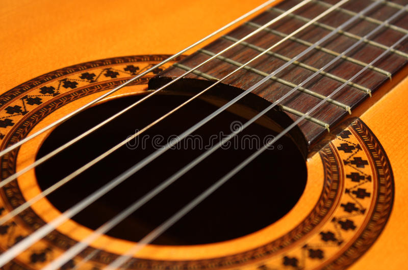 Download Classical Guitar stock image. Image of spanish, white - 11198159