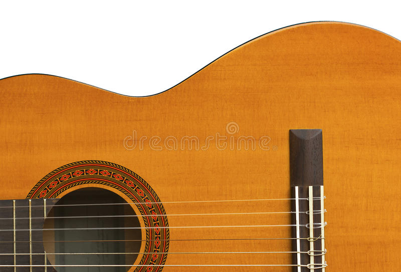 Classical Guitar Close-up III Royalty Free Stock Images