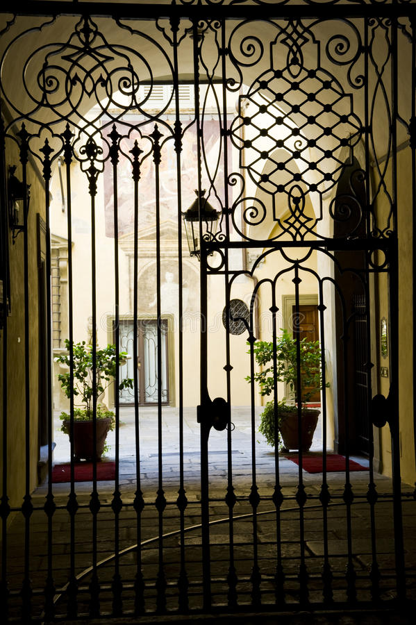Free Classical Iron Gate Royalty Free Stock Photo - 20772415