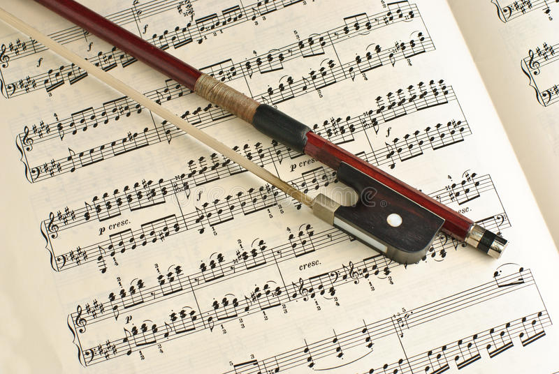 Classical Music stock image