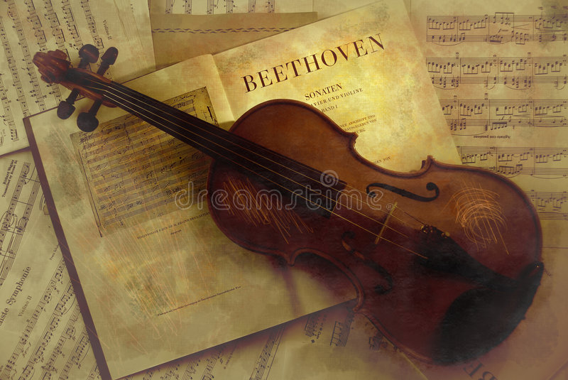 Classical music stock images