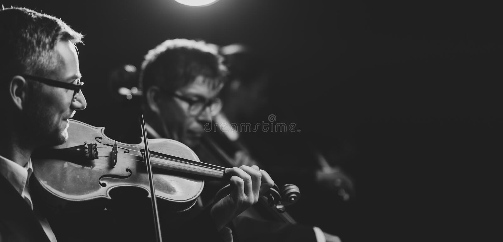 Classical music concert performance royalty free stock photography
