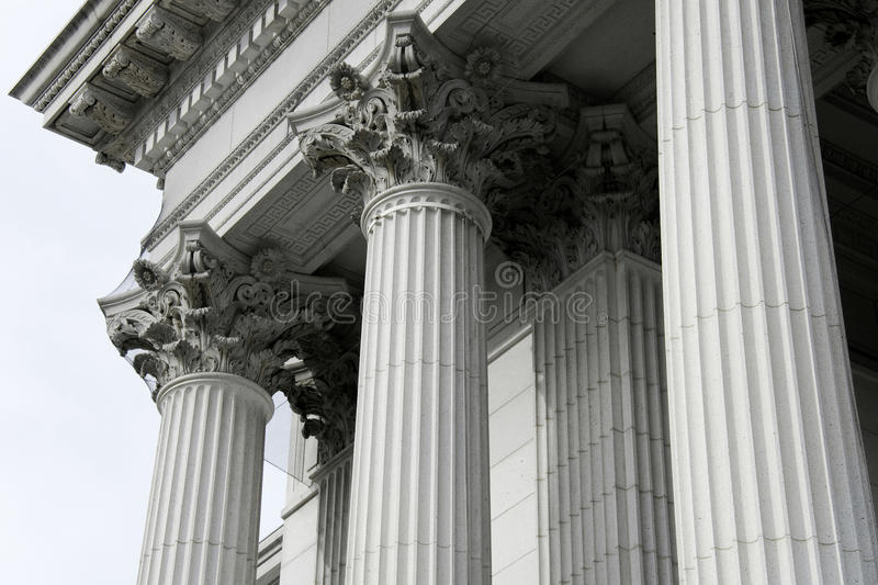 Download Classical Pillars With Portico Detail Stock Photo - Image: 18045062