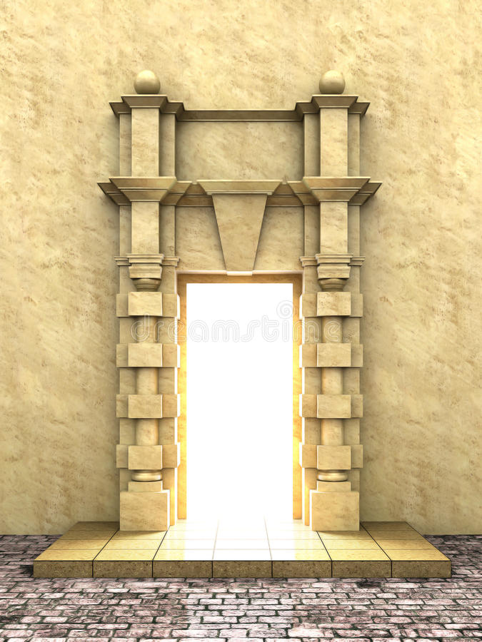 Download Classical portal stock illustration. Illustration of archway - 15676953