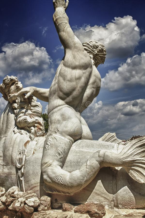 Classical stone statue