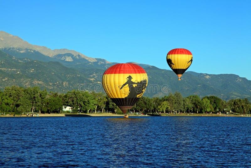 Classico 2010 dell'aerostato del Colorado Springs fotografie stock libere da diritti