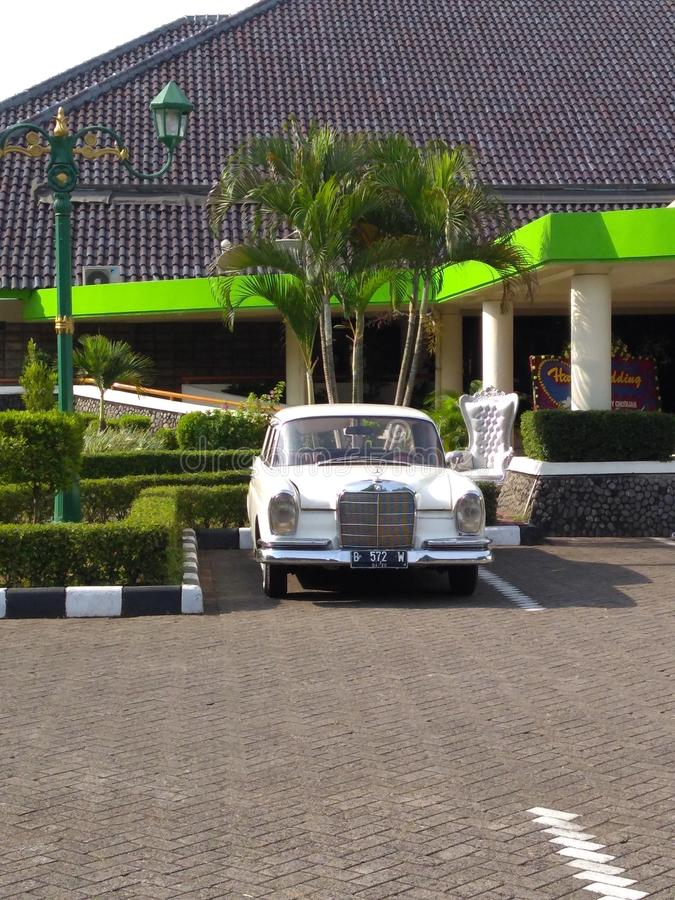 Classico del benz di Mercedes fotografie stock