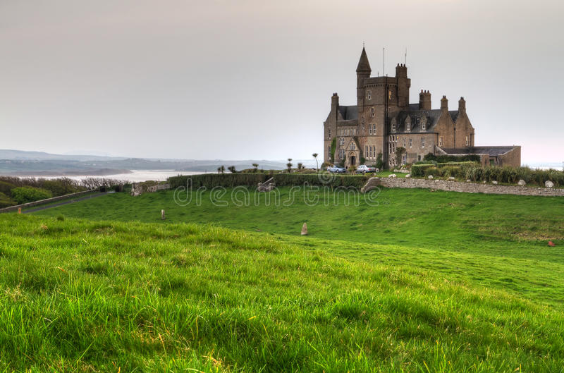 Download Classiebawn Castle On Mullaghmore Head Stock Photo - Image: 20090632