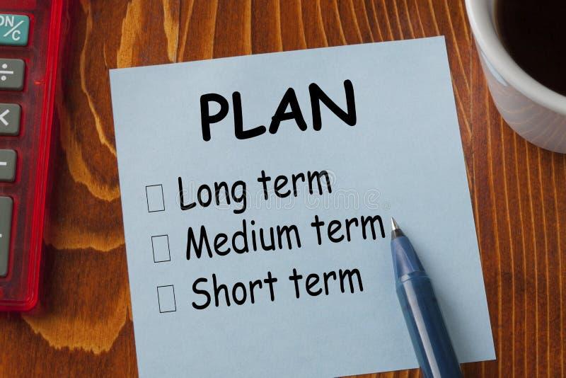 Classificação do plano no tempo fotografia de stock royalty free