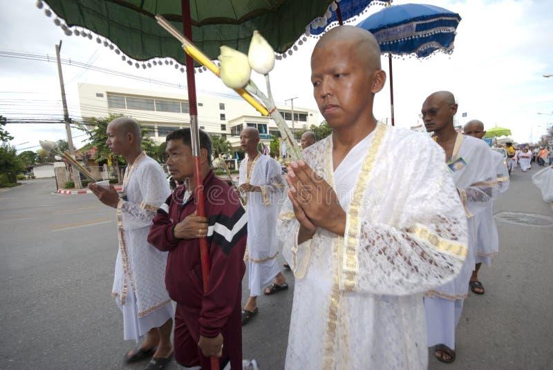 Classificazione della rana pescatrice buddista in Tailandia fotografie stock