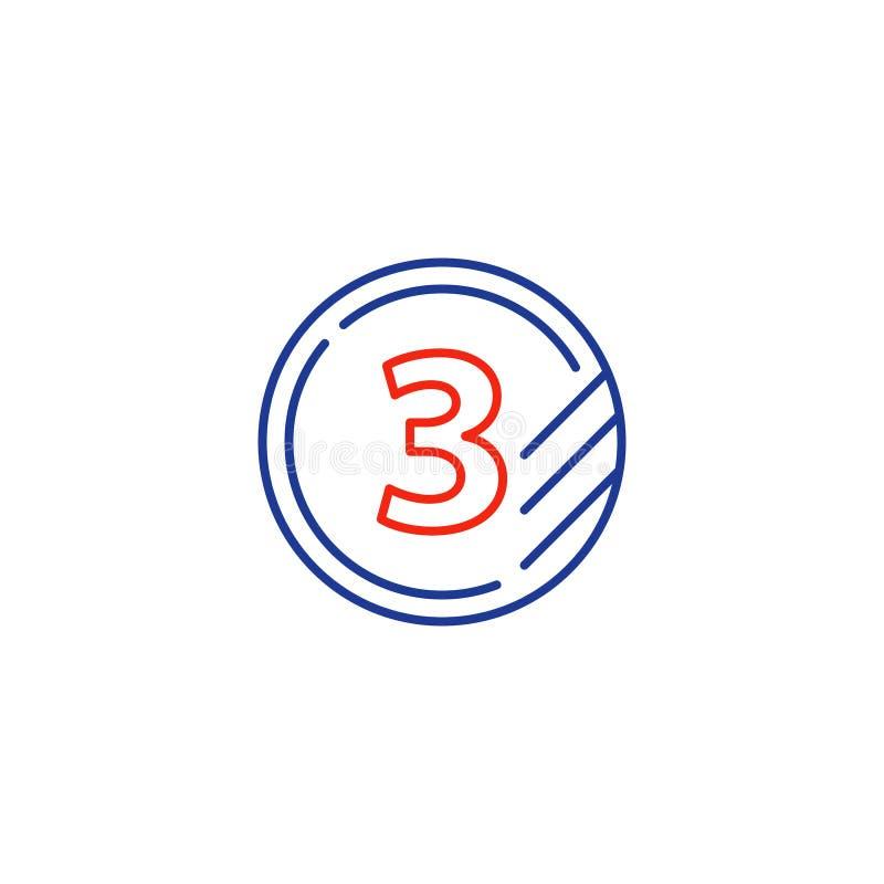 Classifichi la linea le icone, la classe di aggiornamento, concetto veloce del segno di servizi royalty illustrazione gratis