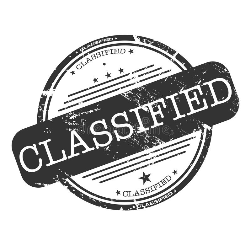 Download Classified stamp stock vector. Image of classified, certify - 7630889