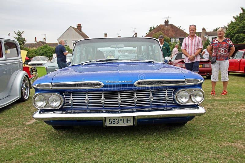 Classique de brookwood de Chevrolet d'Américain images libres de droits