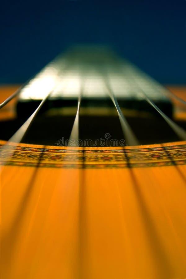 Classique de guitare photo stock