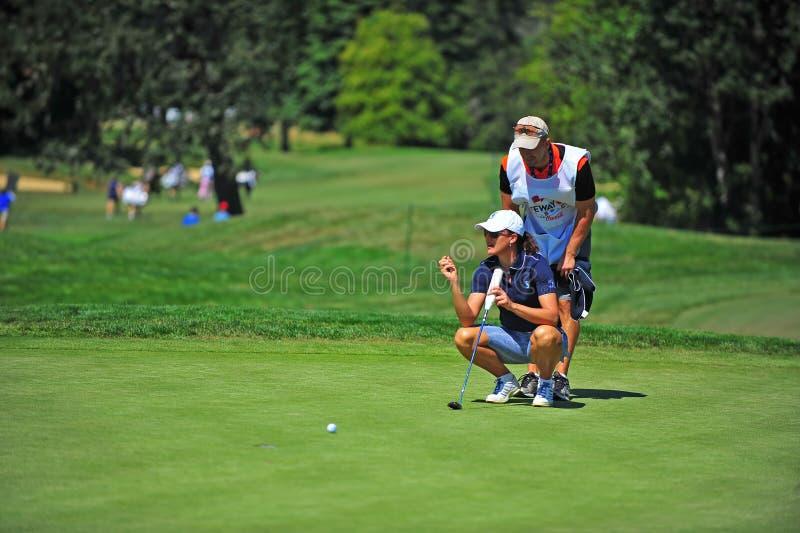 Classique de Sophie Gustafson LPGA Safeway images stock