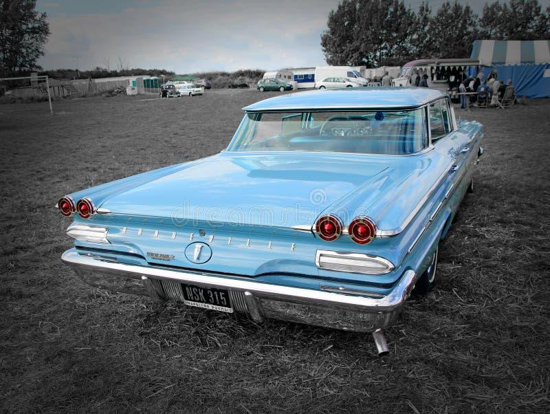 Classique de vintage de Pontiac Bonneville image libre de droits