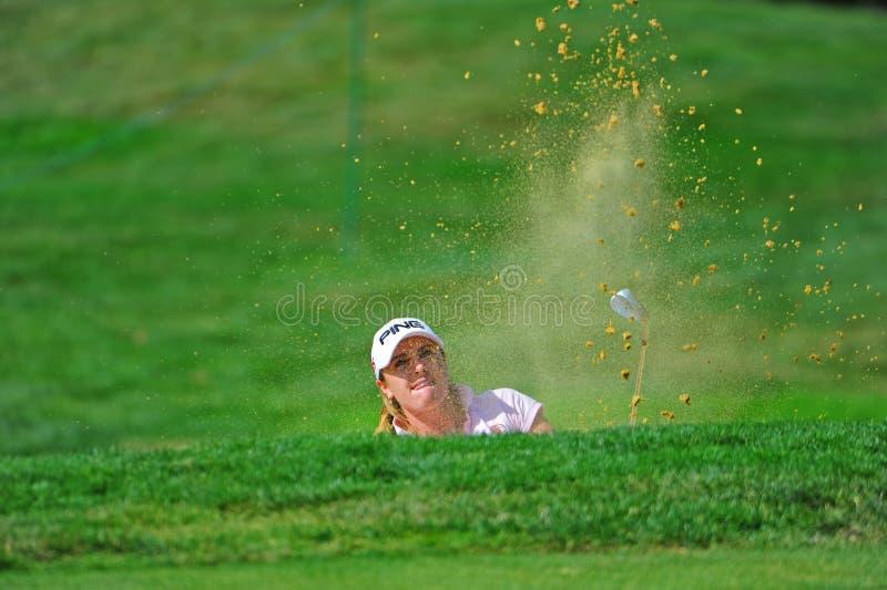 Classique novice d'Alison Walshe LPGA Safeway images stock
