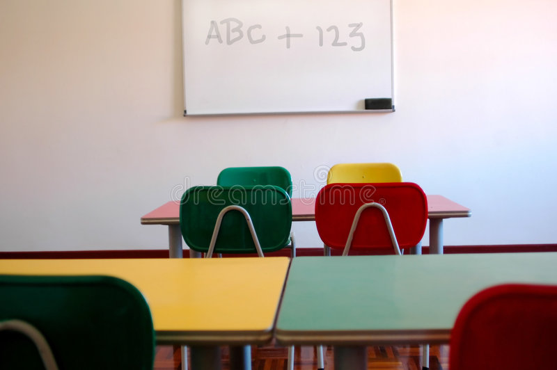 Download Classroom stock image. Image of educate, colorfun, learn - 416887