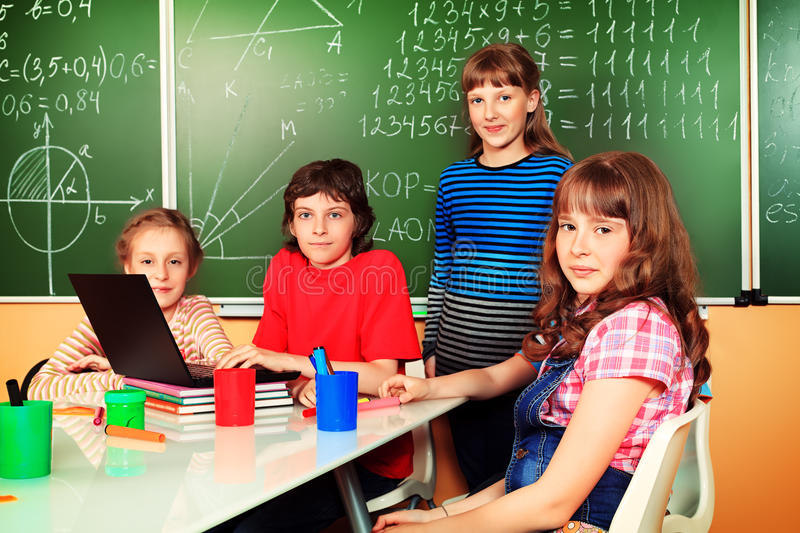 Download Classroom stock image. Image of female, girls, active - 31931523