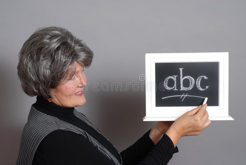 Classroom instruction stock image