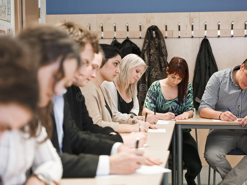 Classroom situation royalty free stock photography